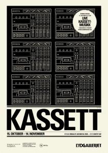 Kassett exhibition poster